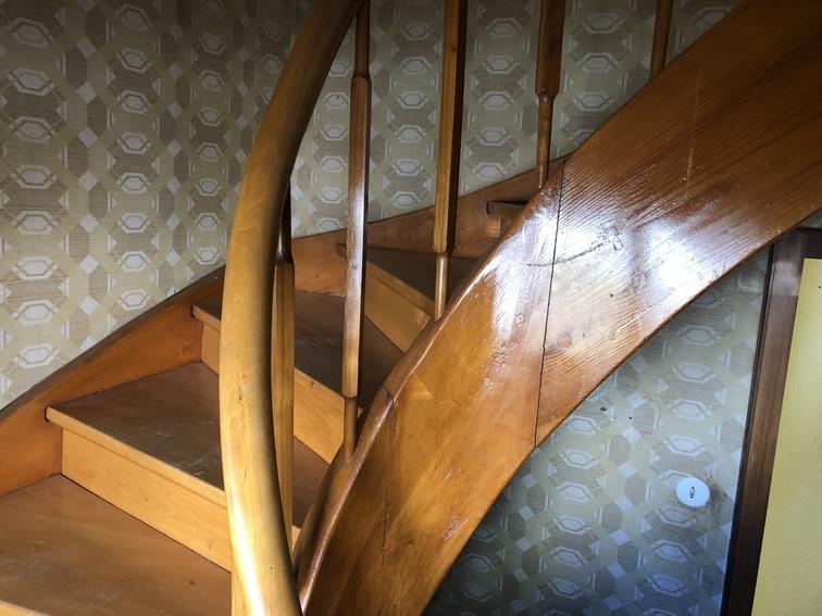 Treppenrenovierung Buche